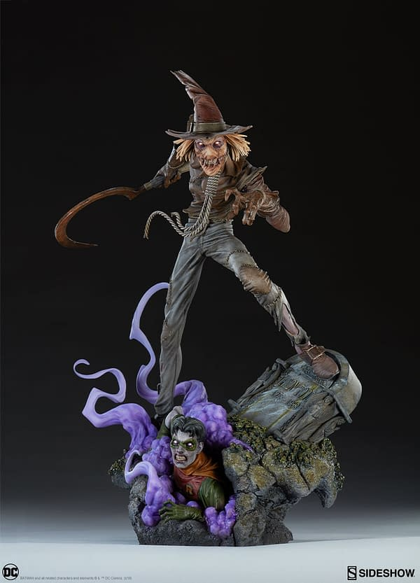 Scarecrow Premium Format Figure Up for Order at Sideshow Collectibles