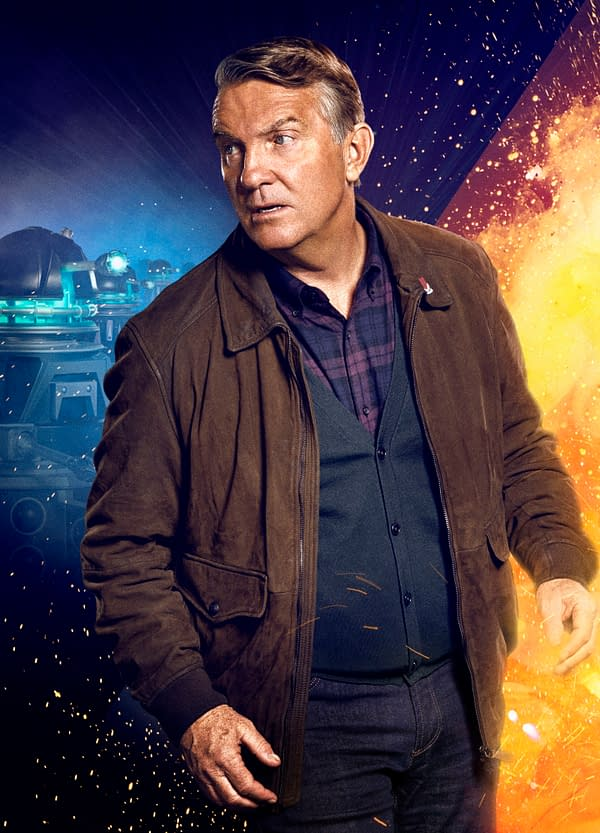 "Doctor Who ""Revolution of the Daleks"" Releases New Images, Posters"