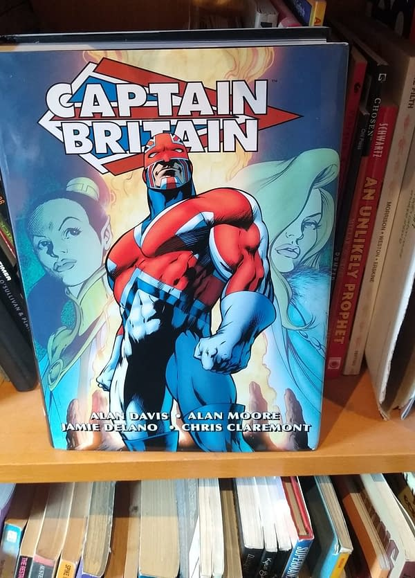 Marvel - Is It Time To Reprint The Captain Britain Omnibus?