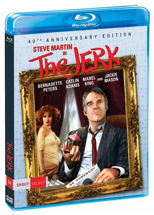 The Jerk SHout Factory Blu Ray Cover
