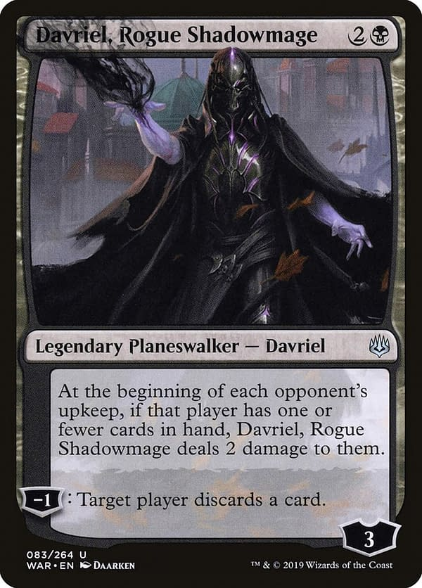 """Davriel, Rogue Shadowmage"" Deck Tech - ""Magic: The Gathering"""