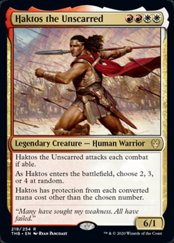 """""""Theros: Beyond Death"""" Spoilers 1/4/20 - """"Magic: The Gathering"""""""