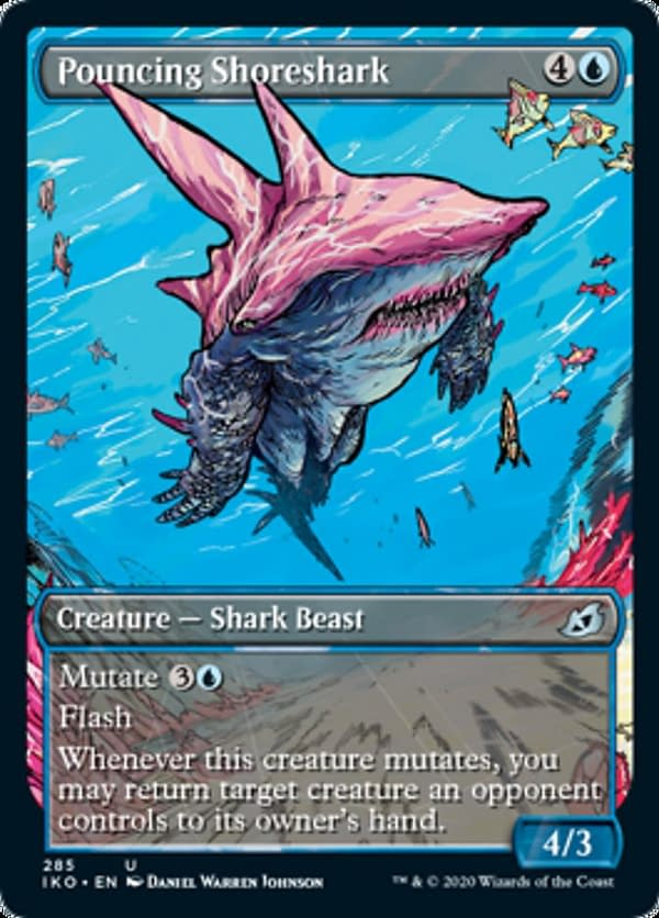03 - Pouncing Shoreshark mtg card