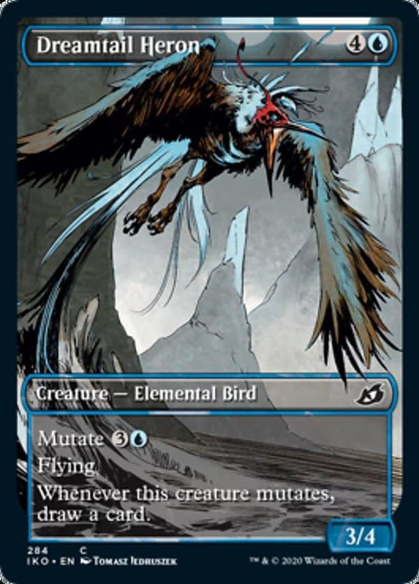 06 - Dreamtail Heron mtg card