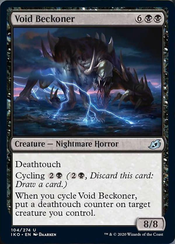 06 - Void Beckoner mtg card