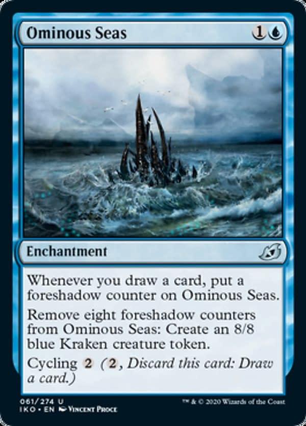 07 - Ominous Seas mtg card