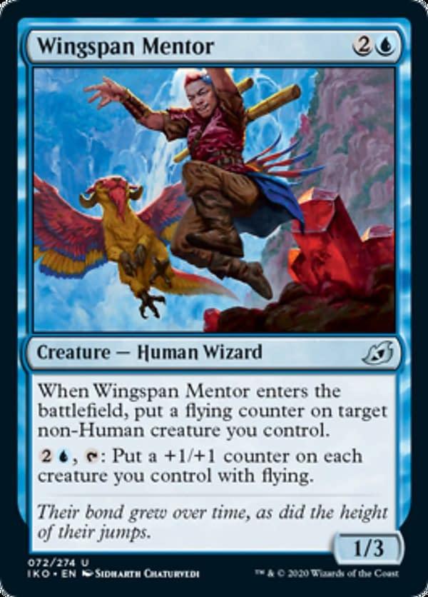 08 - Wingspan Mentor mtg card