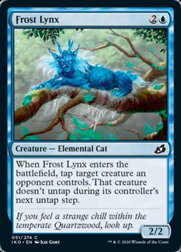 10 - Frost Lynx mtg card