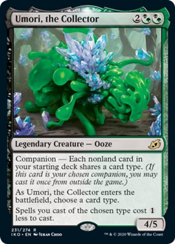 Umori the Collector mtg card