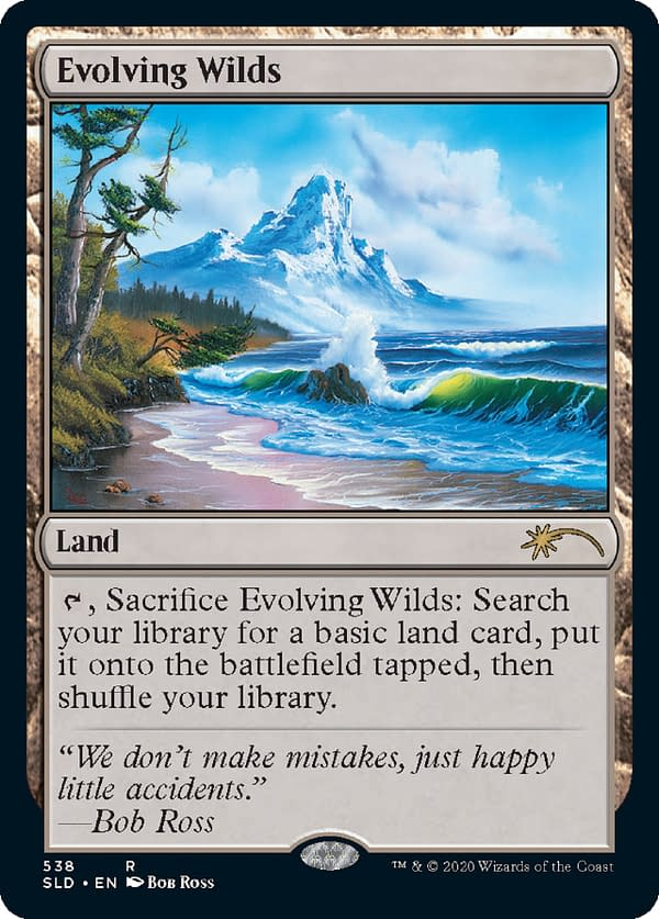 Look at this happy little land card I can sacrifice for more land. Courtesy of Wizards of the Coast.