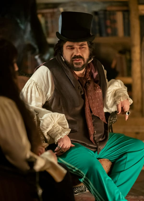 "WHAT WE DO IN THE SHADOWS -- ""Nouveau Théâtre des Vampires"" -- Season 2, Episode 10 (Airs June 10) Pictured: Matt Berry as Laszlo. CR: Russ Martin/FX"