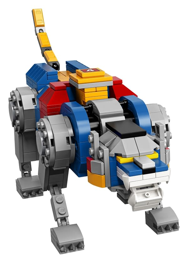 LEGO Ideas Voltron Set 3