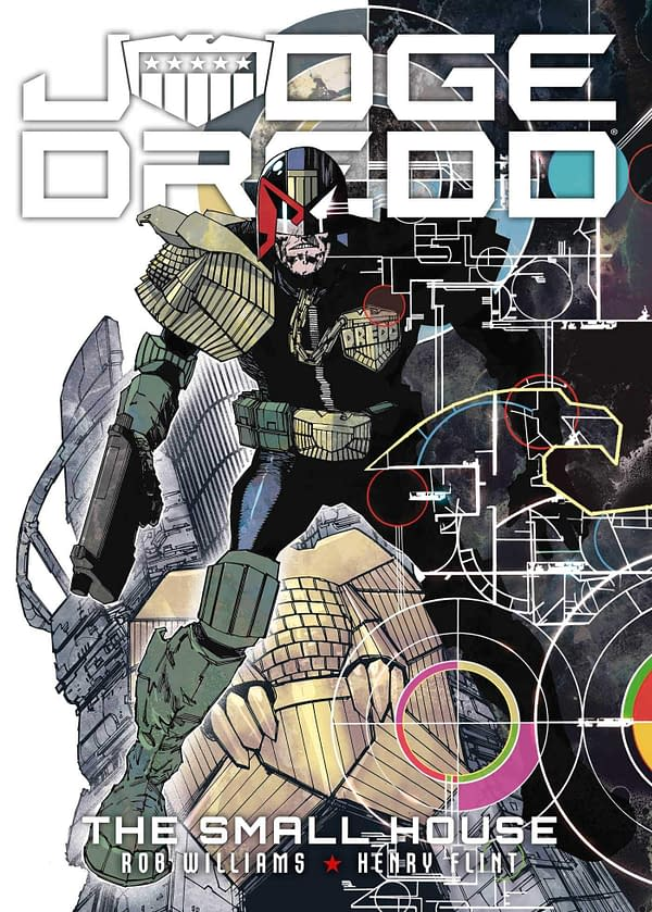 Judge Dredd: The Small House Launches Dredd Month in Ceptember