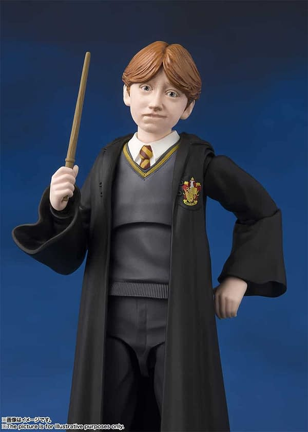 SH Figuarts Harry Potter Ron 3