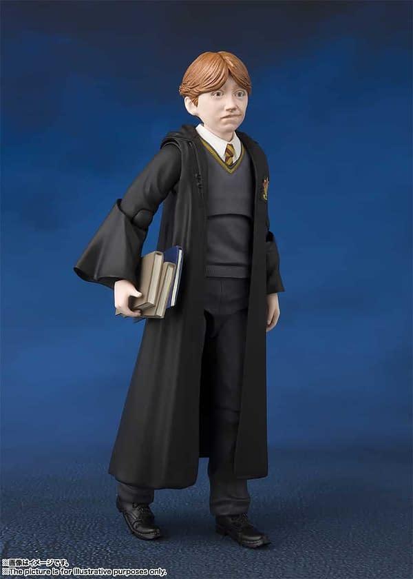 SH Figuarts Harry Potter Ron 4