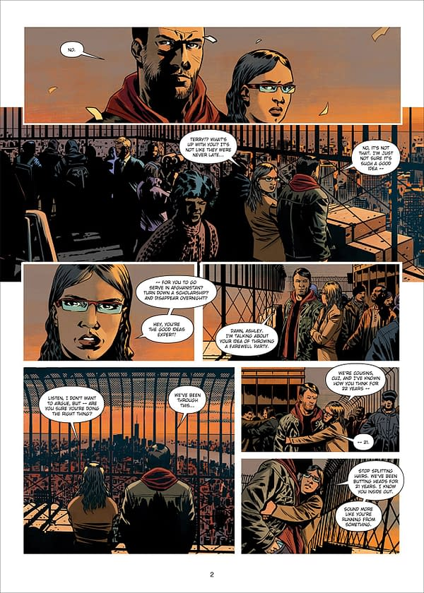 You Can Read Charlie Adlard's Vampire State Building Graphic Novel in English Right Now