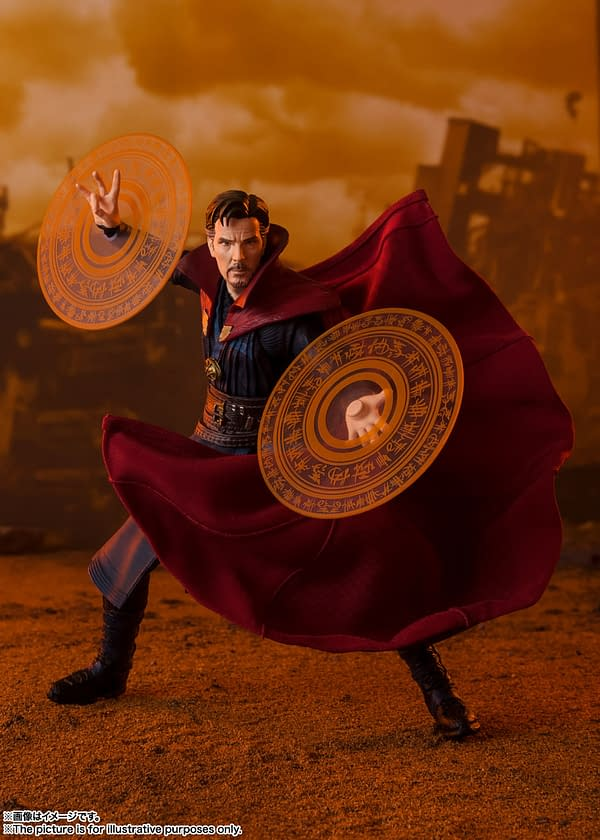Doctor Strange is Ready to Take on Thanos with New S.H.Figuarts Figure