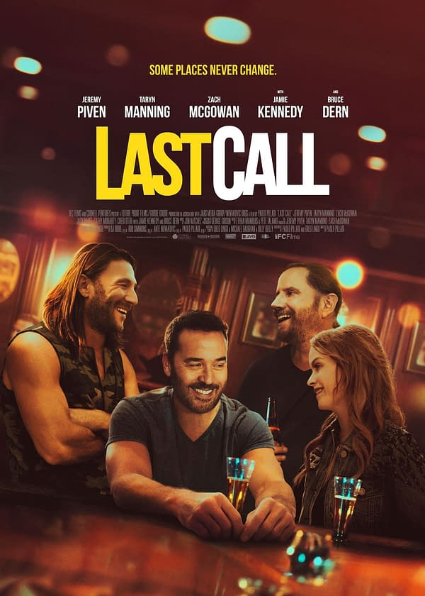 Trailer Debuts For Last Call Starring Jeremy Piven, Out March 19th