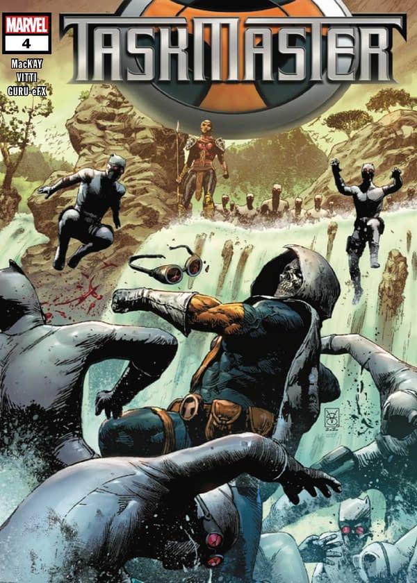 Taskmaster #4 Cover. Credit: Marvel Comics
