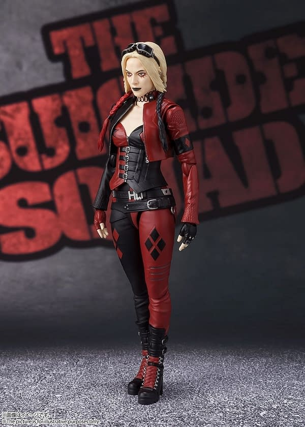 Harley Quinn From The Suicide Squad Comes To S.H. Figuarts