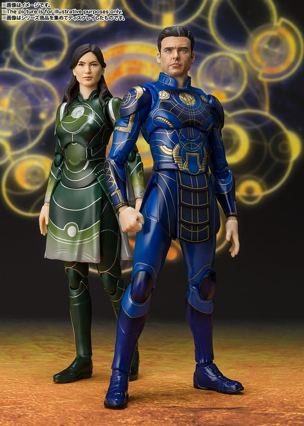 The Eternals Come to S.H. Figuarts with Ikaris, Kingo, & Sersi Figures