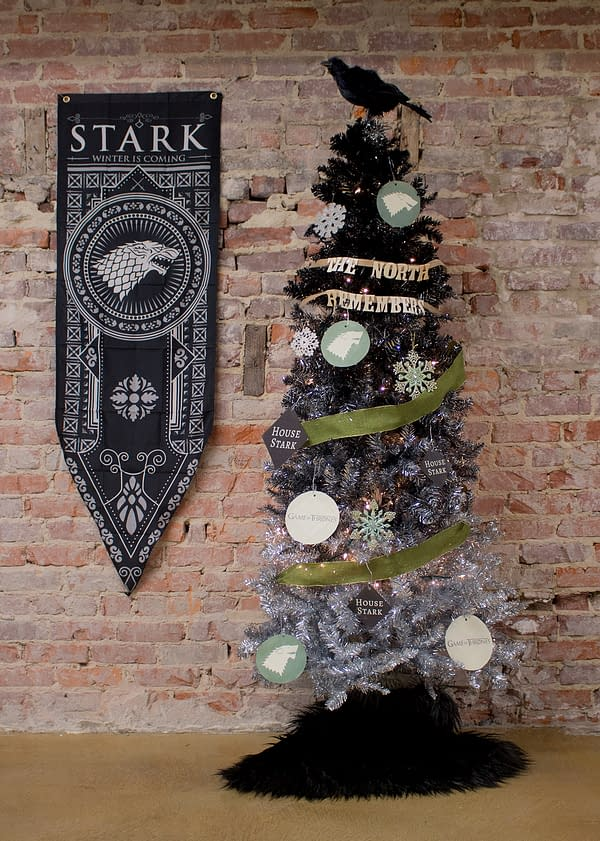 Winter Is Here – Game Of Thrones Inspired Christmas Trees