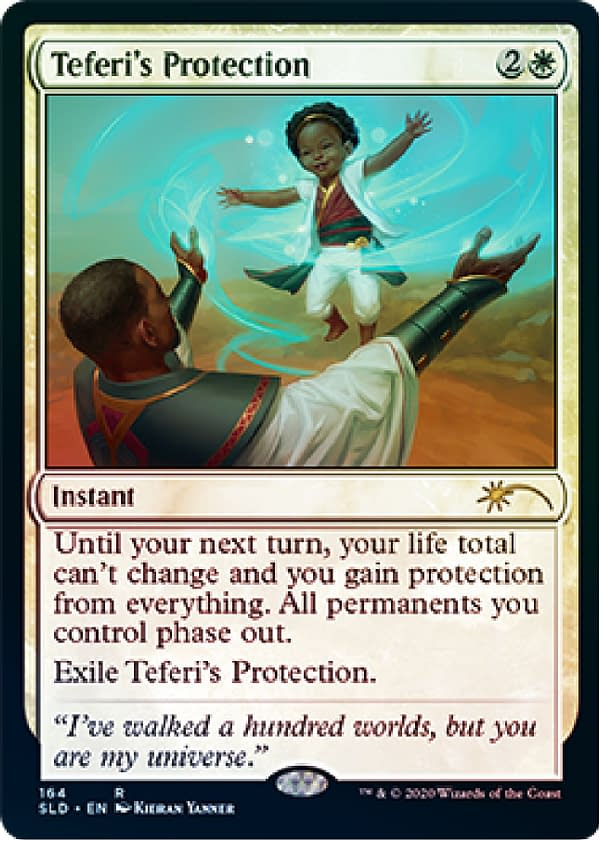 We could all use a little protection. Courtesy of Wizards of the Coast.