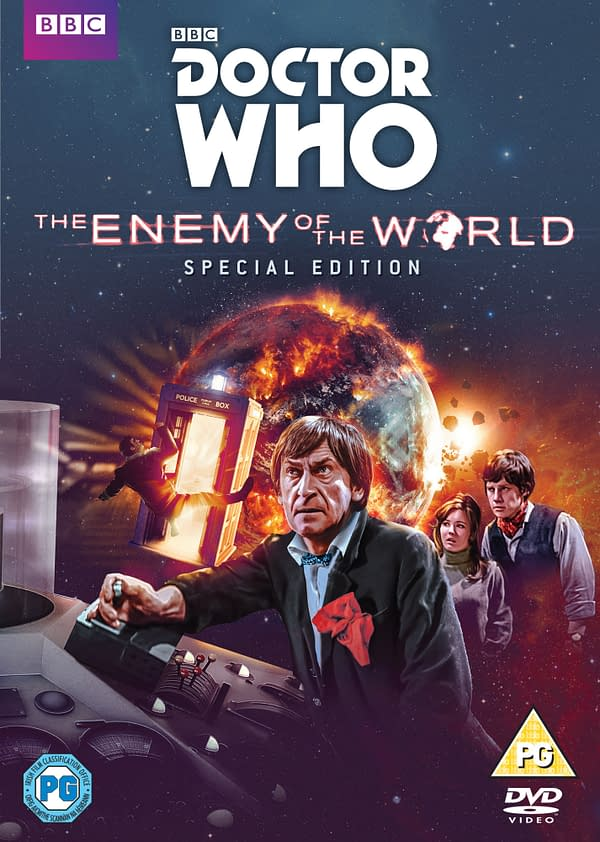 Re-Remastering Patrick Troughton's Doctor Who: The Enemy of the World for New DVD Release