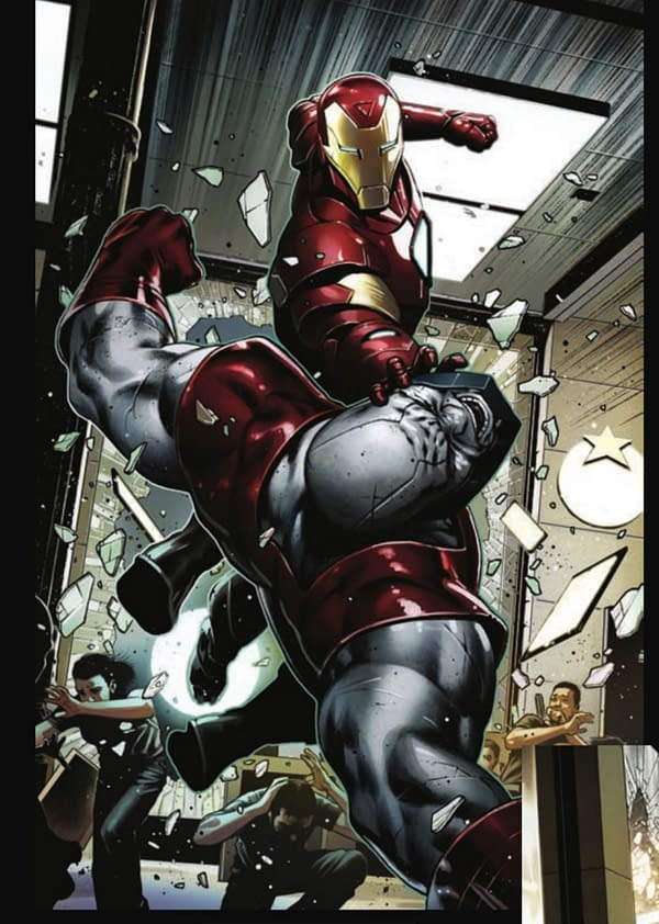 Iron Man #2 Preview.