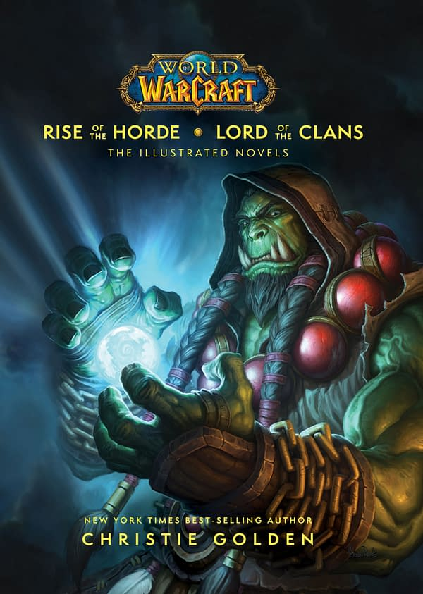 A look at the cover art for the upcoming World Of Warcraft title, courtesy of Canterbury Classics.
