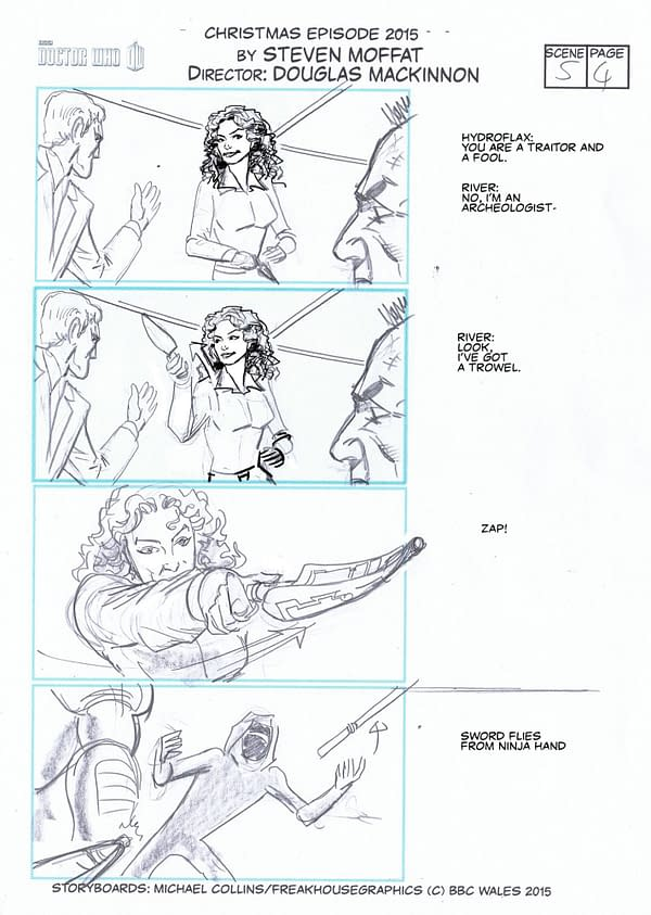 Doctor Who: The Storyboards Of The Husbands Of River Song