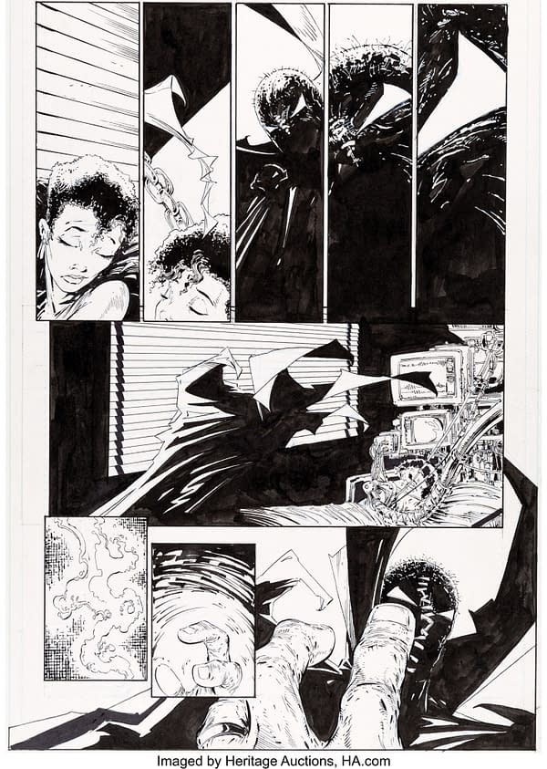 When Todd McFarlane Drew Superman, Original Art At Auction Today