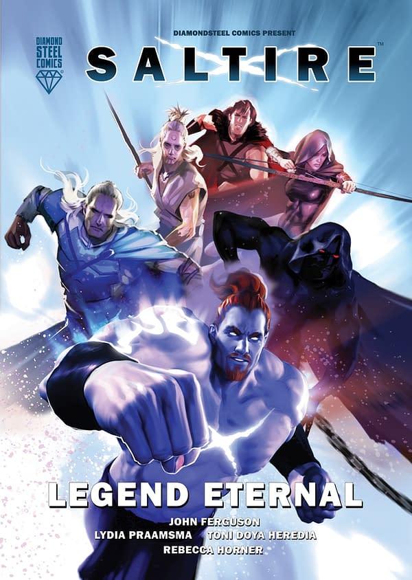 Scotland's Best Superhero Returns in Saltire: Legend Eternal