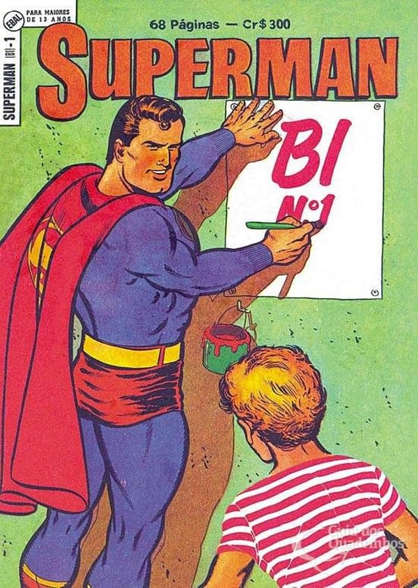 Brazil Was 50 Years Ahead Of The US When It Came To Superman Being Bi