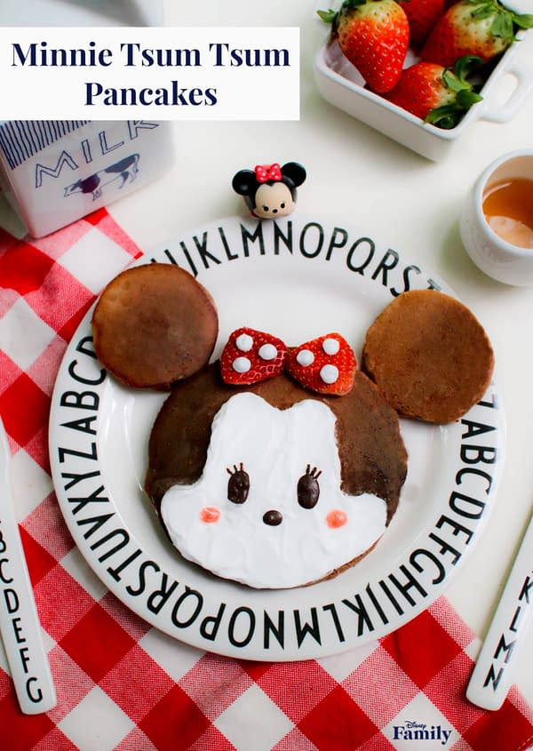 Nerd Food: Give this Minnie Tsum Tsum Pancake a Try for Breakfast!