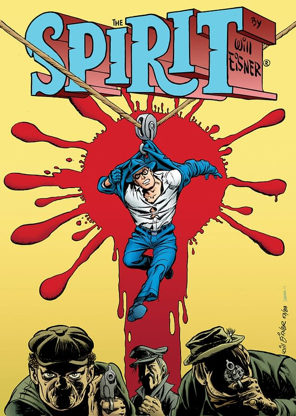 Clover Press Bags Will Eisner's The Spirit License For 2020, With New Format