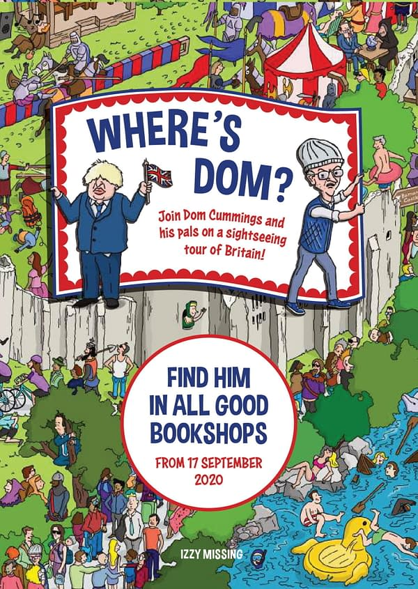 Where's Dom? - Dominic Cummings Parody of Where's Wally. Credit: Welbeck