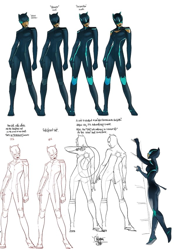 Catwoman Has A New Magnetic Suit For DC Comics 5G Future State