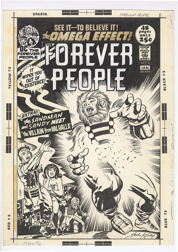IDW To Display 1,300 Pages Of Original Jack Kirby Artwork To San Diego Comic-Con
