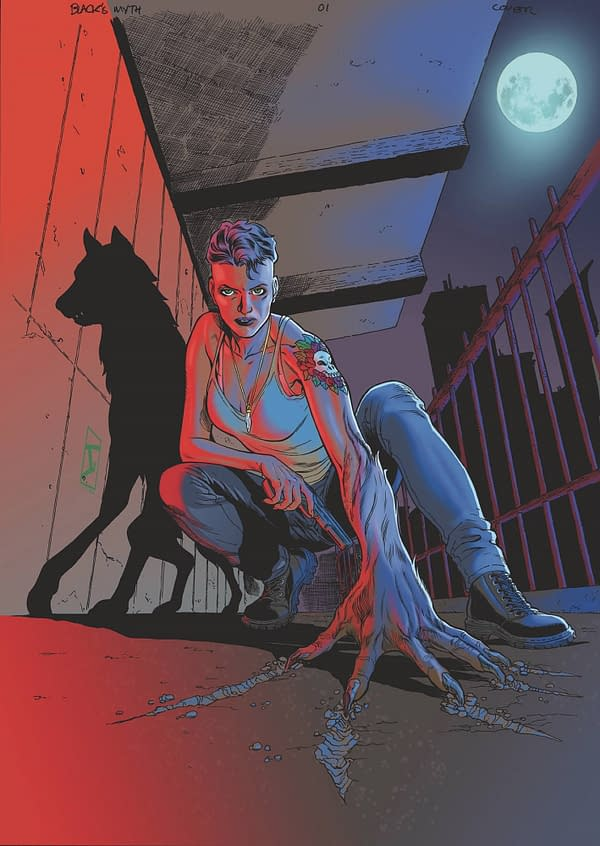 Eric Palicki & Wendell Cavalcanti's Black's Myth #1 From Ahoy Comics