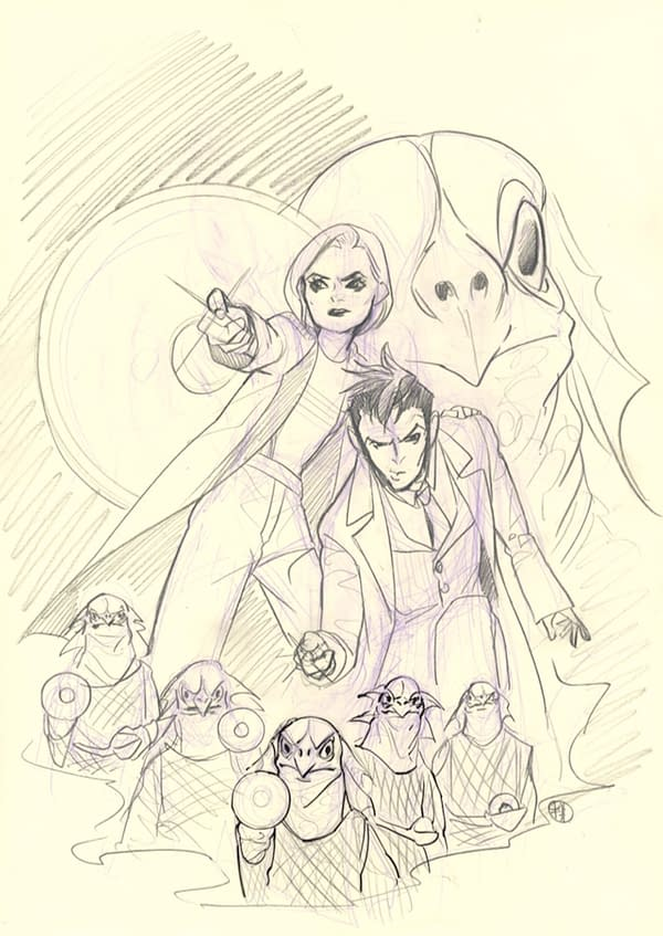 Peach Momoko Virgin Sketch Variant FOC Cover Added To Doctor Who #1