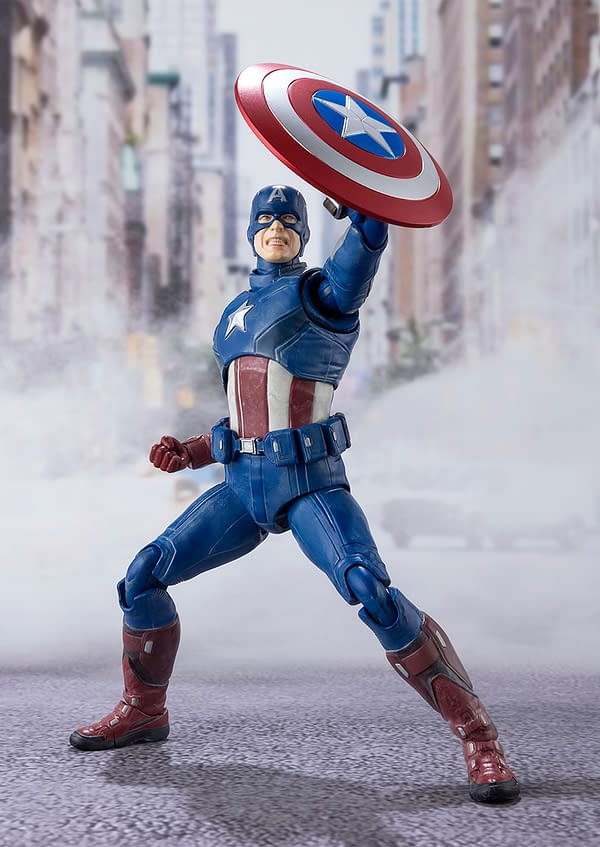 Captain America is Back in 2012 with New S.H. Figuarts Figure