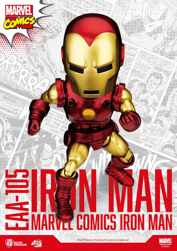 Iron Man Recieves A Classic Makeover With Beast Kingdom EAA Figure