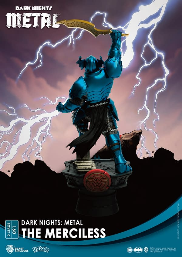 Batman The Merciless Comes to Beast Kingdom With New D-Stage Statue