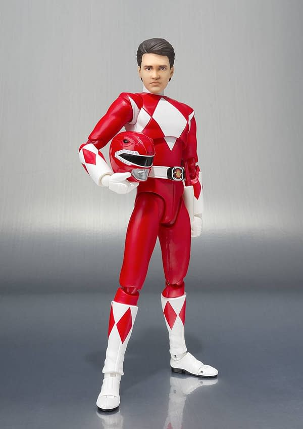 Bandai Tamashii Nations Red Power Ranger SCC