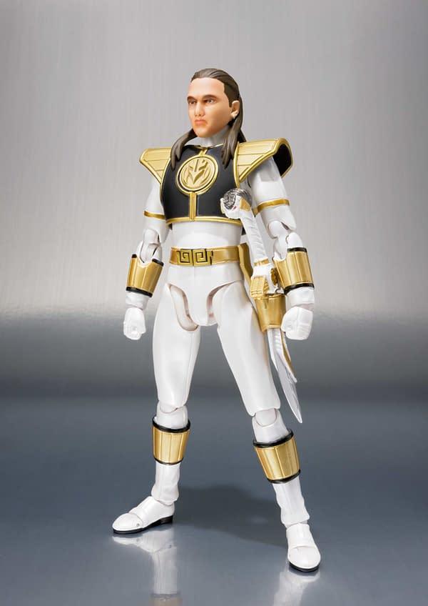 SH Figuarts Power Rangers White Ranger 1