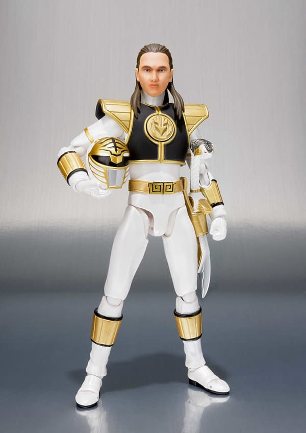 SH Figuarts Power Rangers White Ranger 2