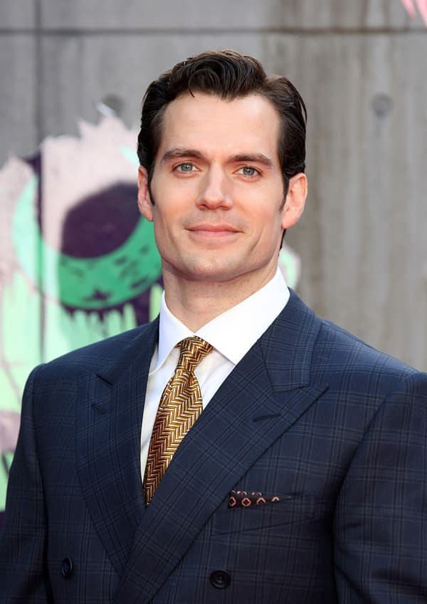 Henry Cavill Responds to Today's 'Superman' Dust Up