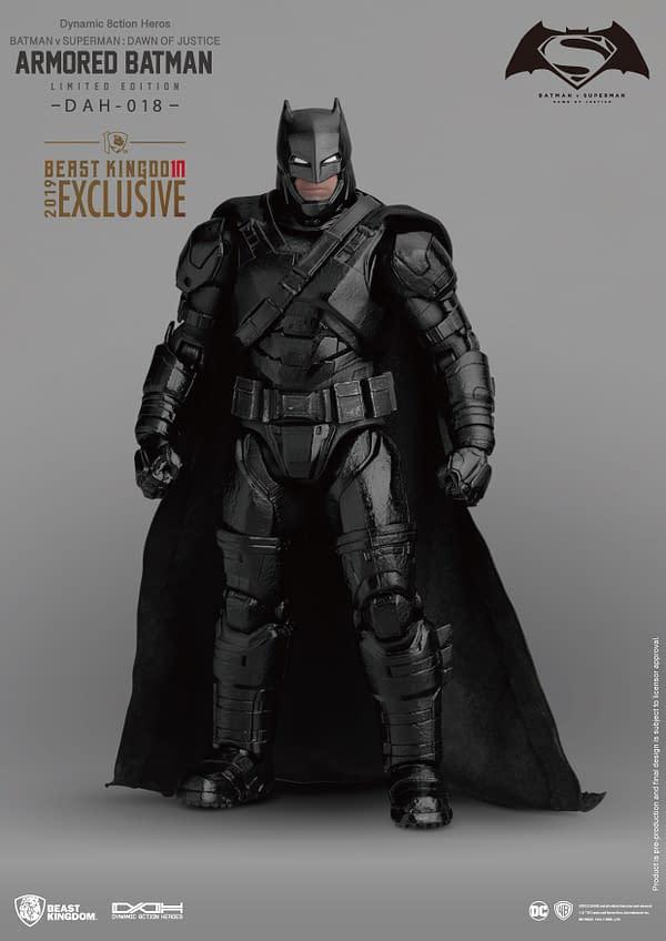 Aquaman and Batman DCEU SDCC Exclusives From Beast Kingdom