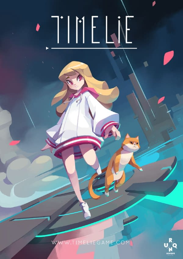 Timelie will be released on May 21st, courtesy of Urnique Studio